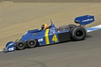 1976 Tyrrell P34.  Chassis number P34/7