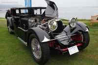 1931 Voisin C20.  Chassis number 47505