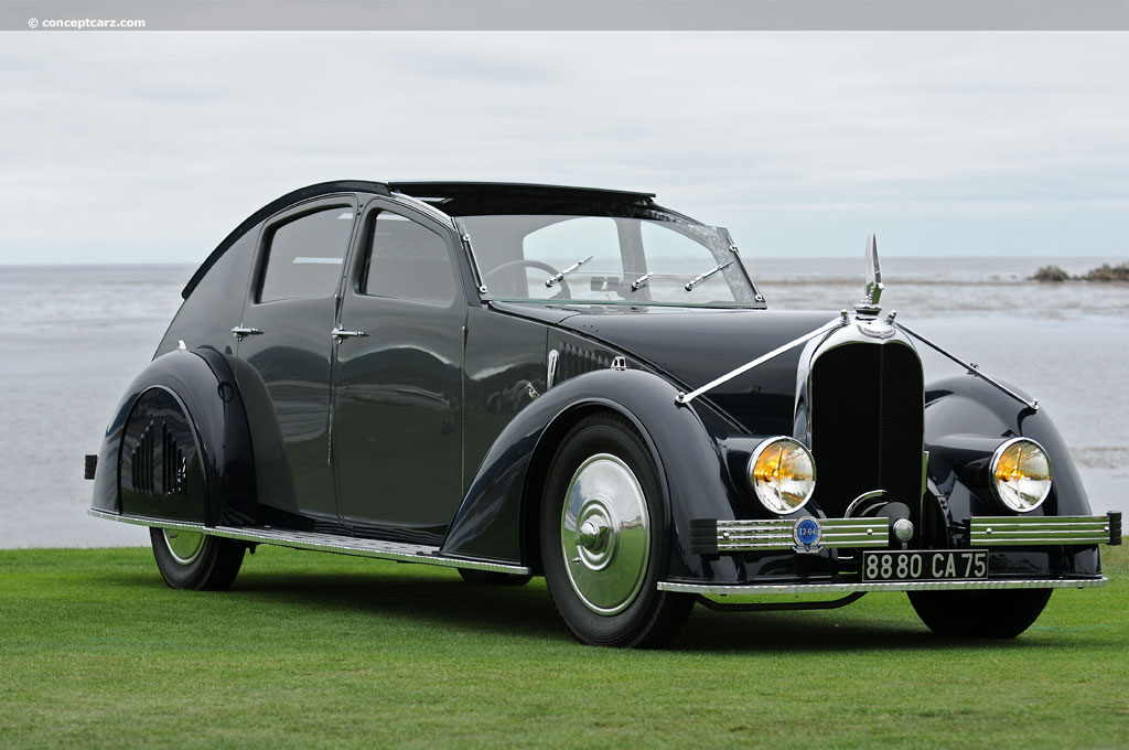 1934 Voisin C25 History, Pictures, Value, Auction Sales, Research and News