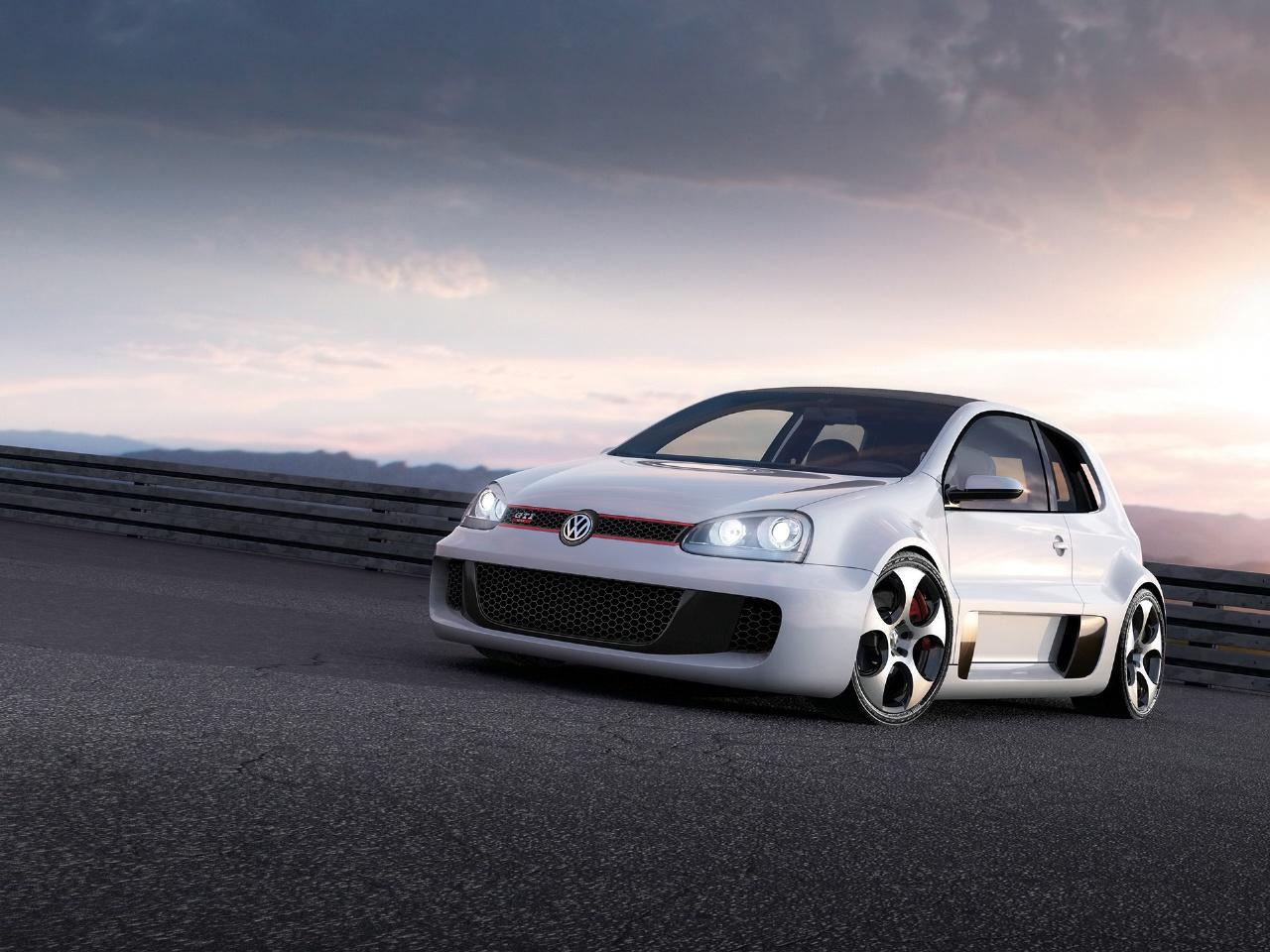 2007 Volkswagen GTI W12 Concept