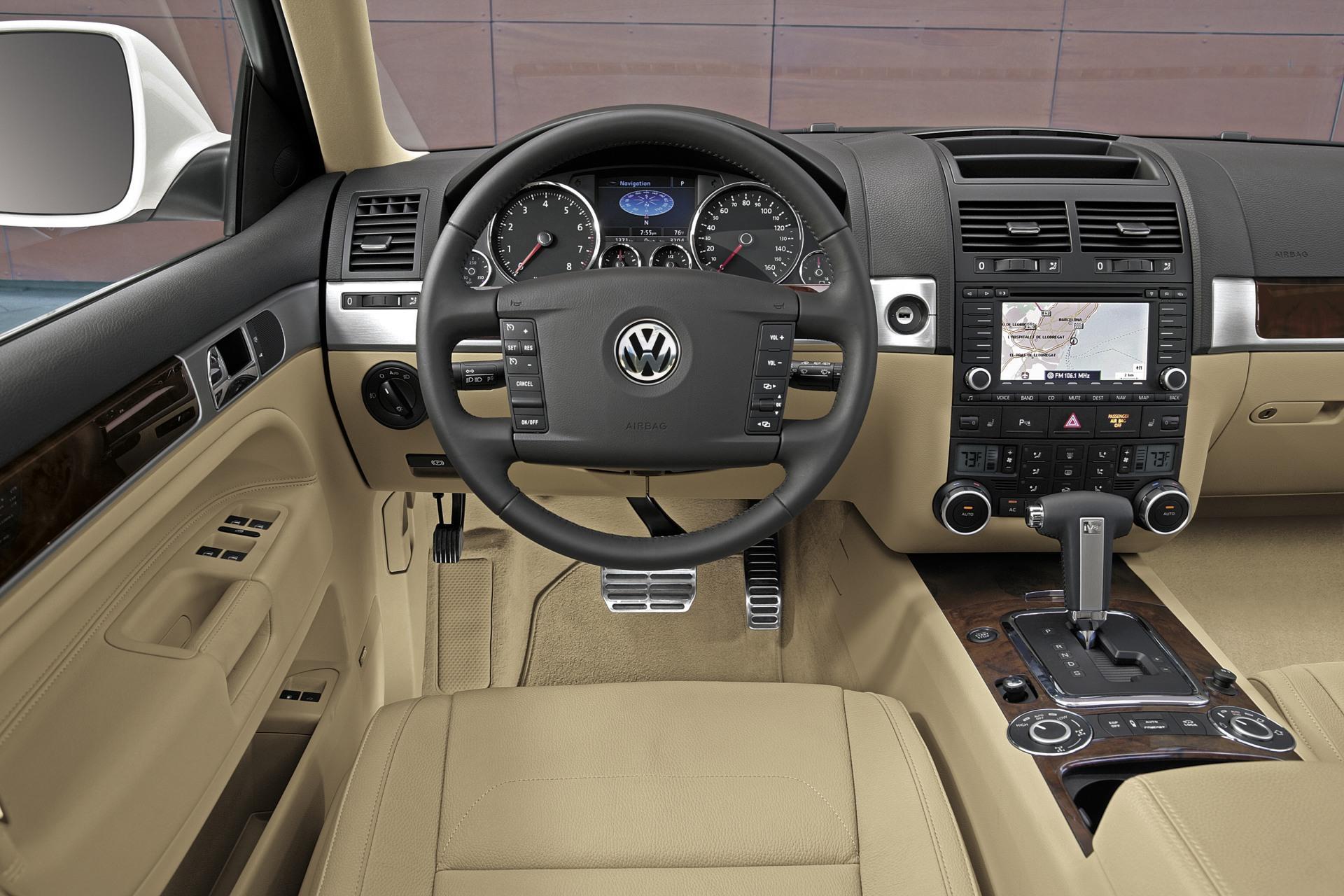 2008 Volkswagen Touareg R50 Desktop Wallpaper and High ...