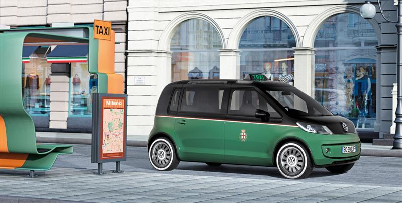 2010 Volkswagen Milano Taxi Concept News And Information Research