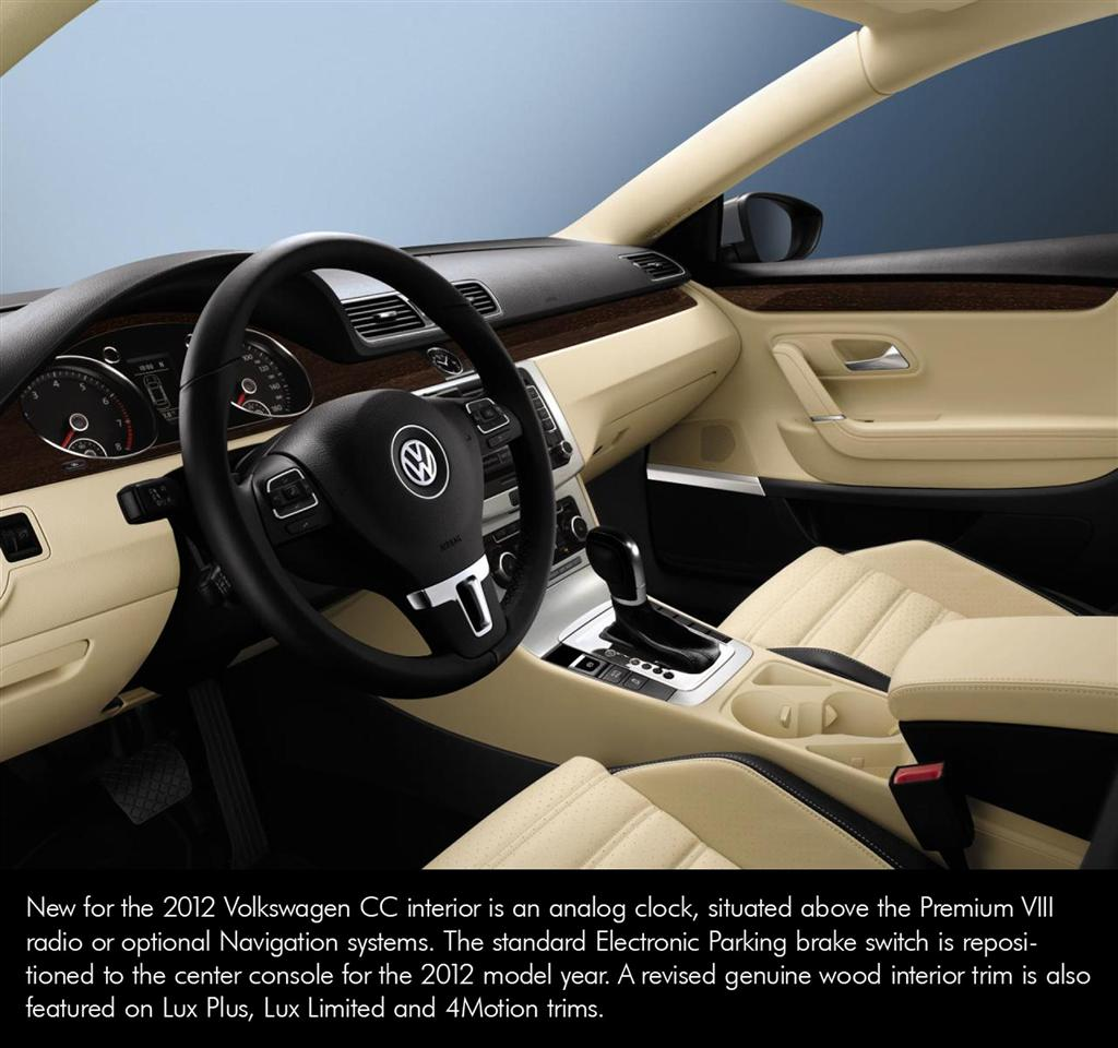 2012 Volkswagen CC News And Information