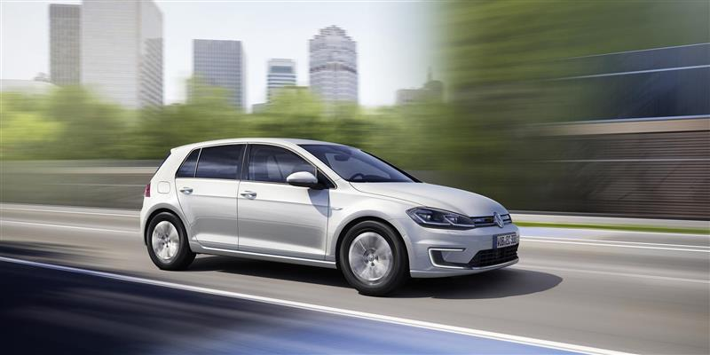 Volkswagen e-Golf pictures and wallpaper