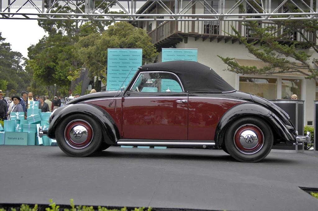1950 Volkswagen Beetle 1100 Deluxe History, Pictures ...