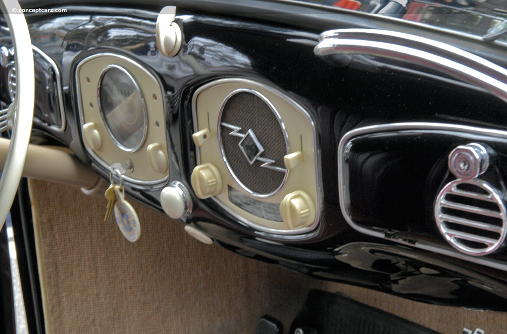 1950 Volkswagen Beetle 1100 Deluxe Image