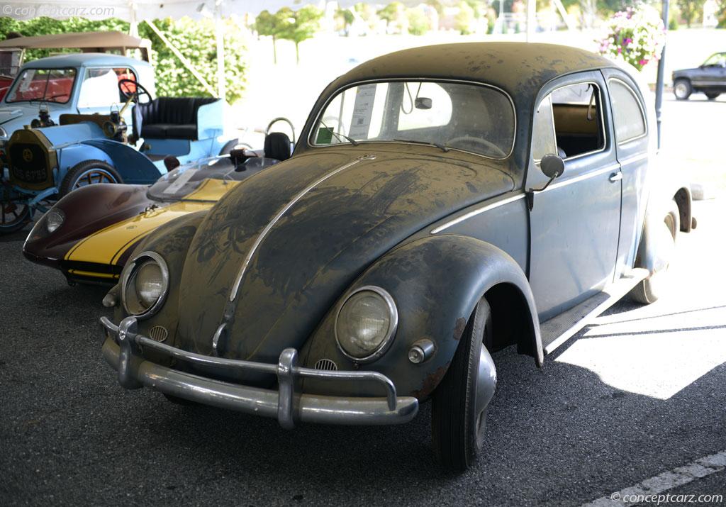 1956 Volkswagen Beetle Image Chassis Number 1075984