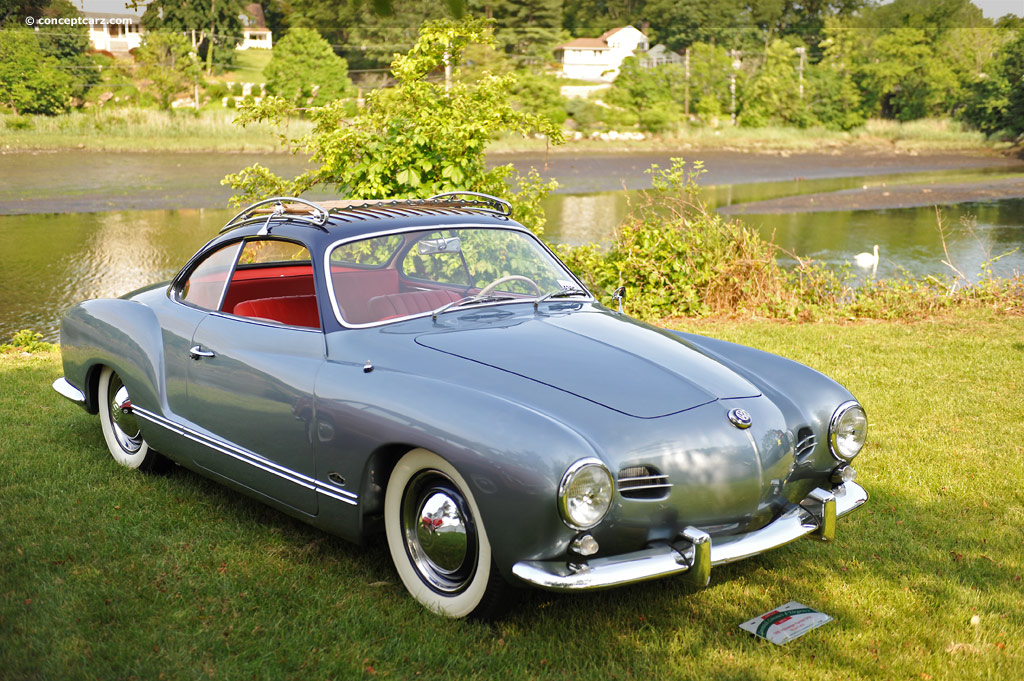 1956 Volkswagen Karmann Ghia Pictures History Value Research News Conceptcarz Com