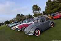 1957 Volkswagen Beetle.  Chassis number 1421640