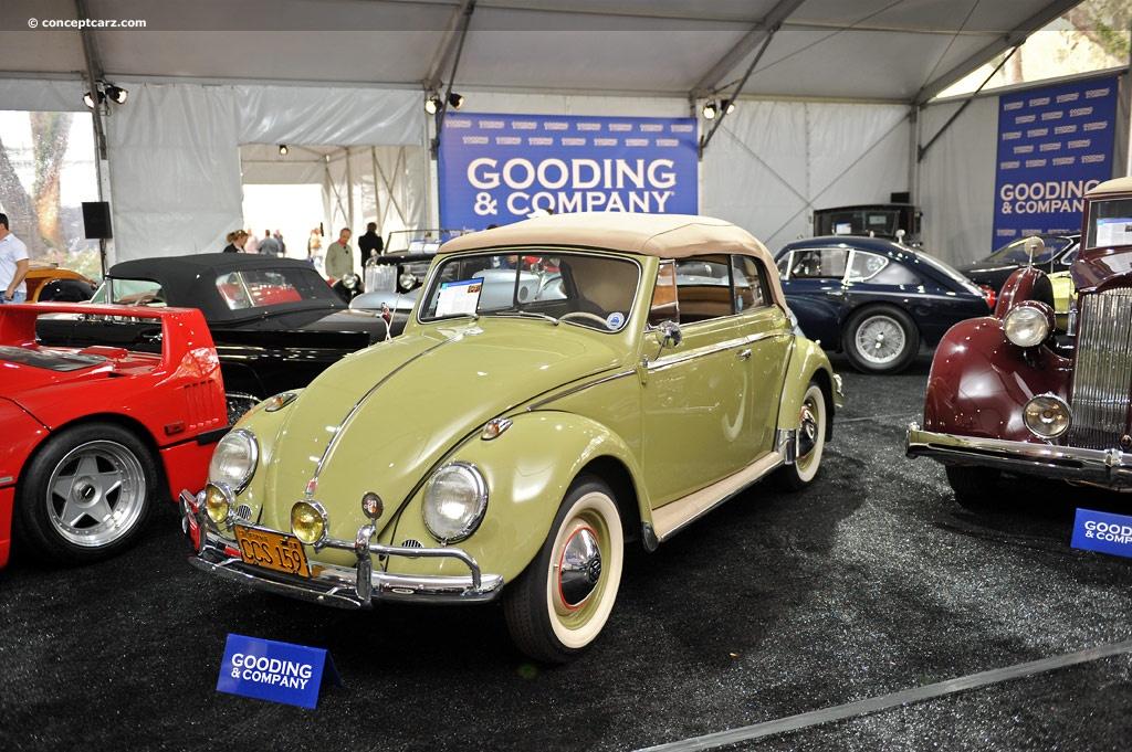 1959 Volkswagen Beetle Image Chassis Number 5557478