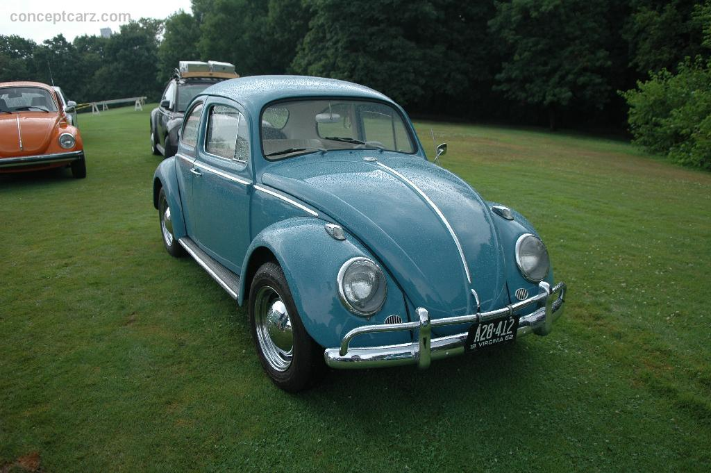 1962 Volkswagen Beetle 1200 Technical Specifications and ...