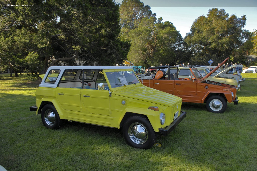 1974 Volkswagen Type 181 Thing Technical And Mechanical Specifications