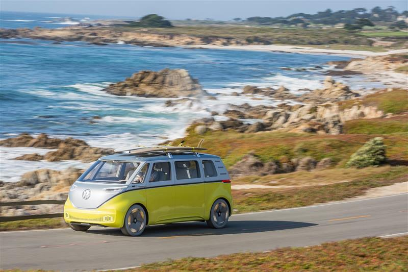 Volkswagen I.D. BUZZ Concept pictures and wallpaper