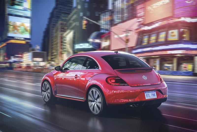 2017 Volkswagen PinkBeetle Edition