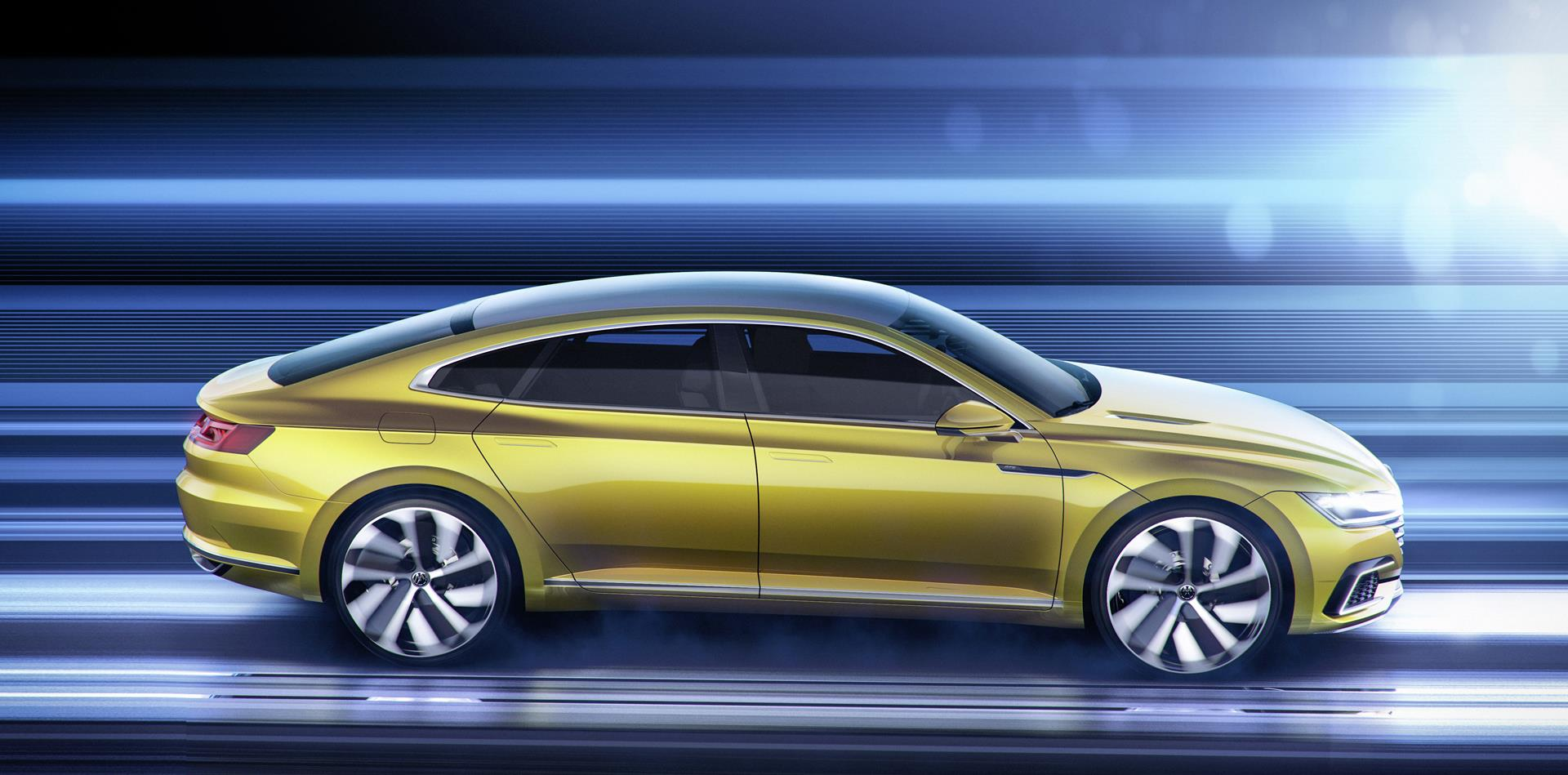 2015 Volkswagen Sport Coupé Concept GTE