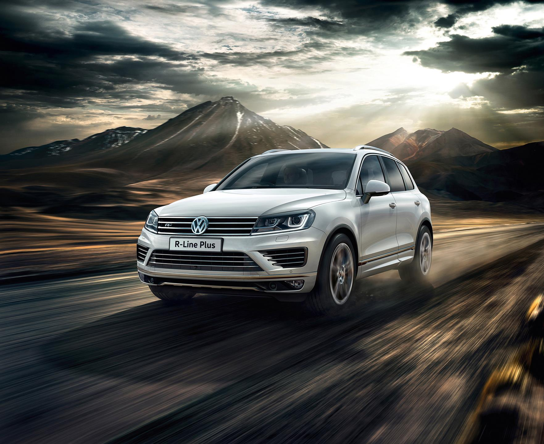 Dodge Mini Van >> 2016 Volkswagen Touareg R-Line Plus News and Information