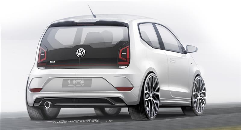 2017 Volkswagen up! GTI Concept