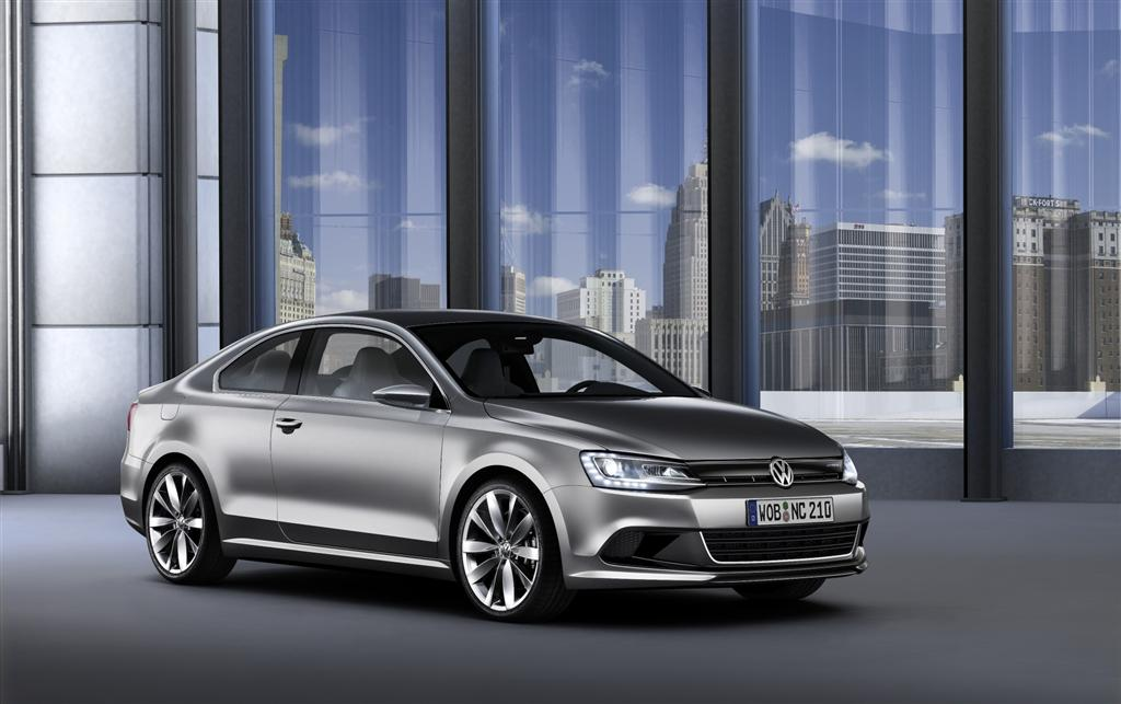 2010 Volkswagen New Compact Coupe Concept Image Photo 24 Of 24