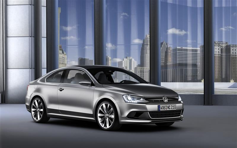 2010 Volkswagen New Compact Coupe Concept