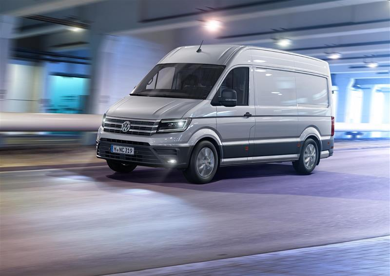 2016 Volkswagen Crafter News and Information