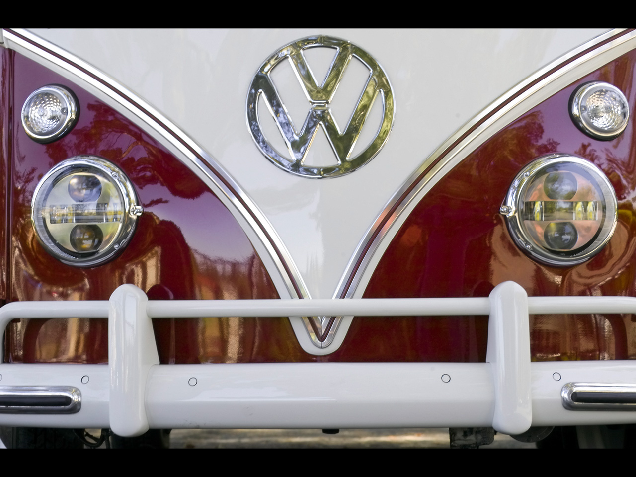 1954 Volkswagen Kombi Model 211 Microbus Desktop Wallpaper ...