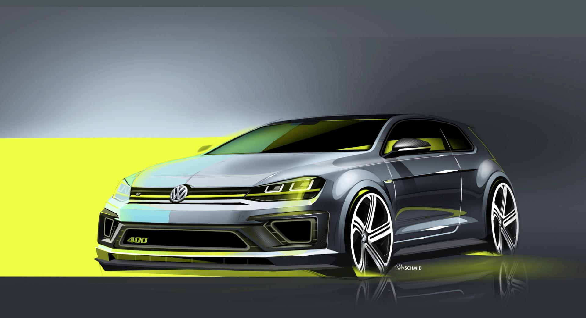 2017 Volkswagen Golf R 400 Concept News And Information Research History
