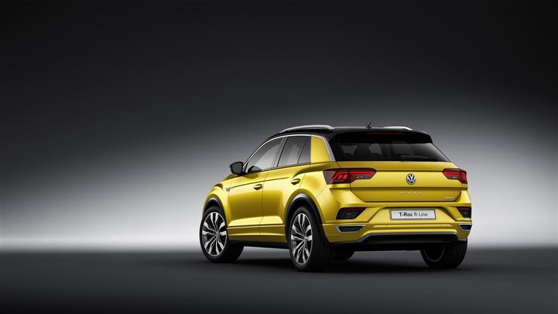 2017 Volkswagen T-Roc R-Line