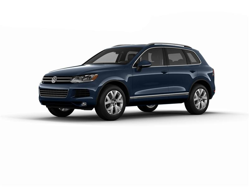 2014 Volkswagen Touareg X Special Edition pictures and wallpaper