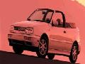 1996 Volkswagen Cabrio image.