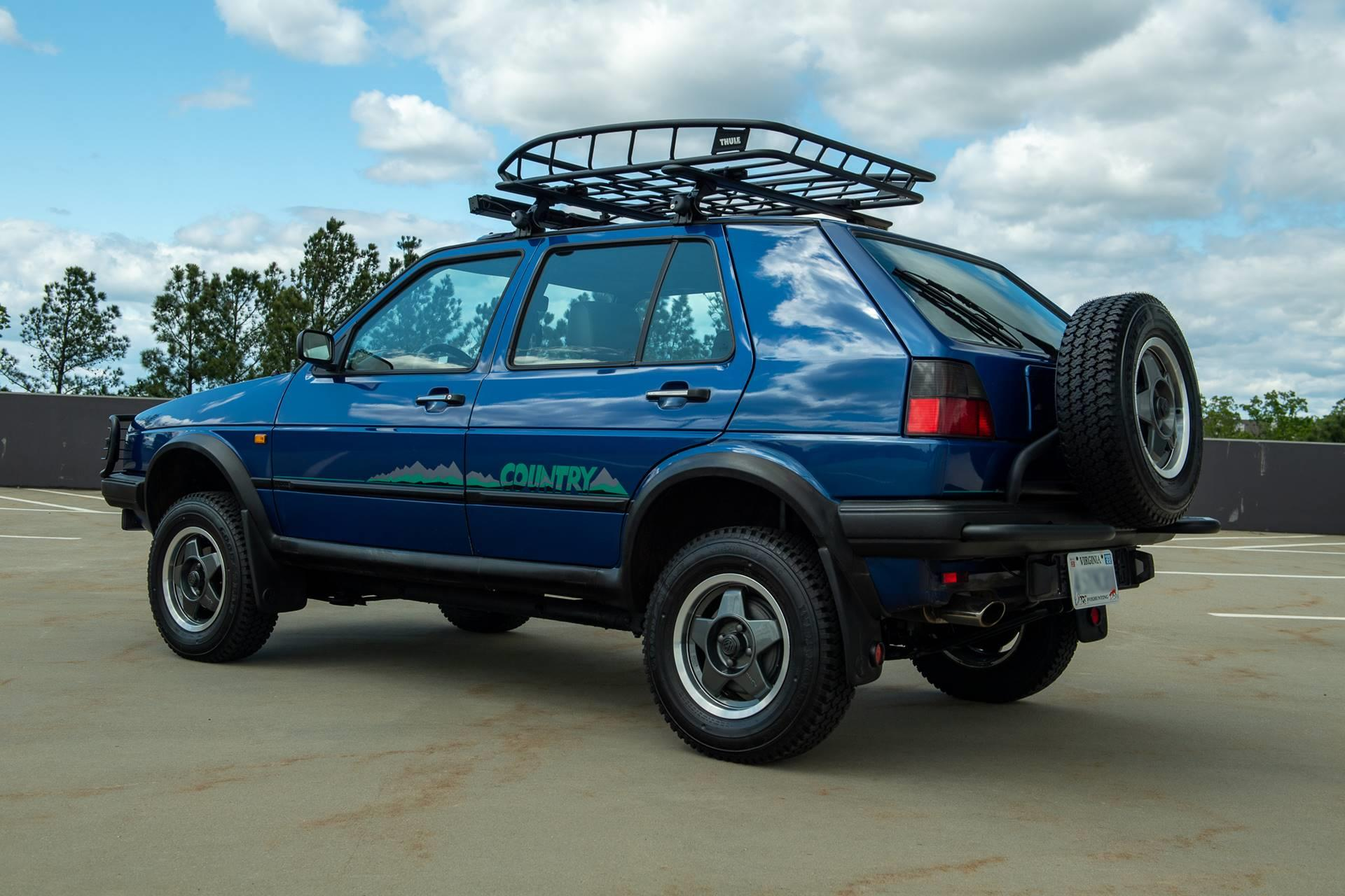 1990 Volkswagen Golf Country