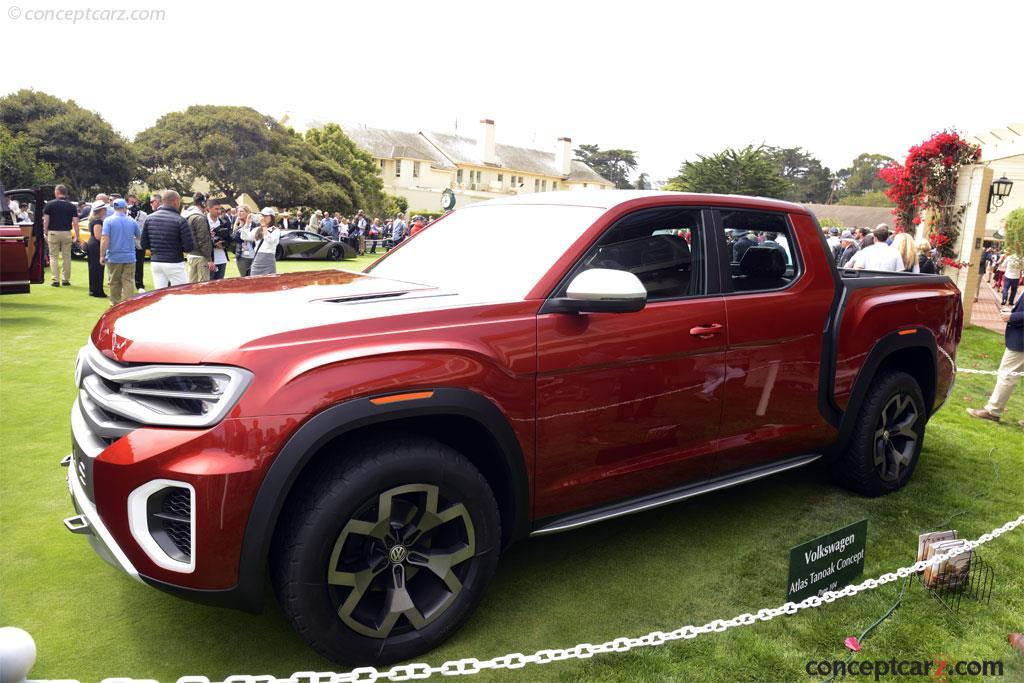 2018 Volkswagen Atlas Tanoak Concept
