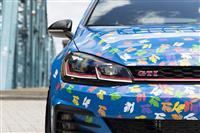 Volkswagen Golf GTI Rabbit Confetti Concept