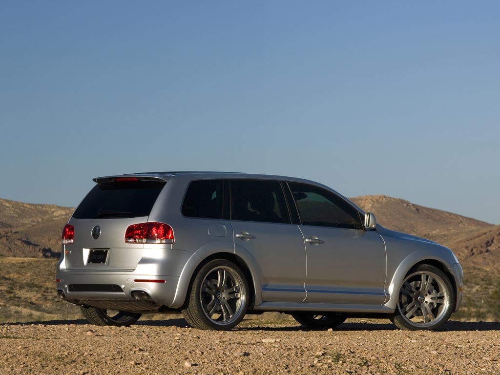 2005 Volkswagen Touareg R GT photo on passat specifications