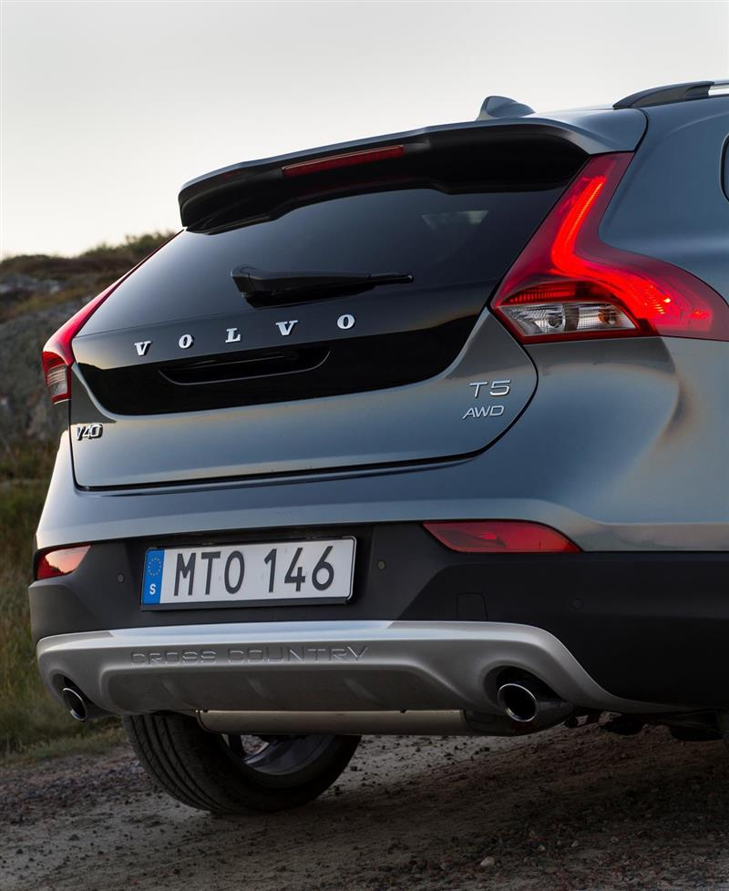Onyx Black Volvo Xc60 Inscription With Maroon Brown: 2016 Volvo V40 Cross Country News And Information