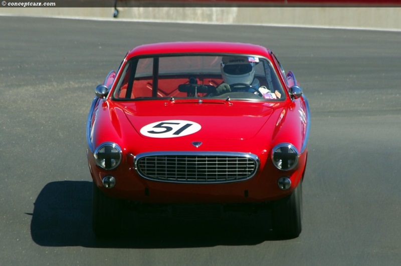 Chassis 14. 1961 Volvo P1800 chassis information
