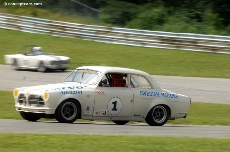 Chassis 31627 1963 Volvo 122s Chassis Information