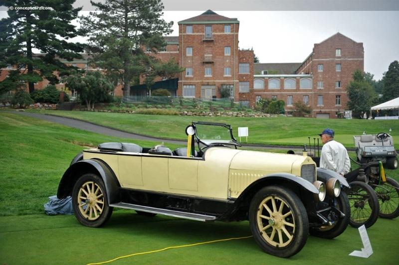1917 White Model GM 16-Valve