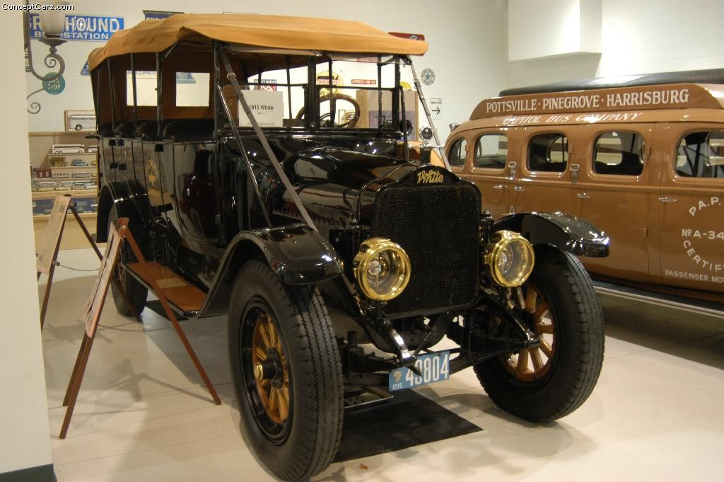 Motor City Auto Auction >> 1915 White Model Sixty Pictures, History, Value, Research ...