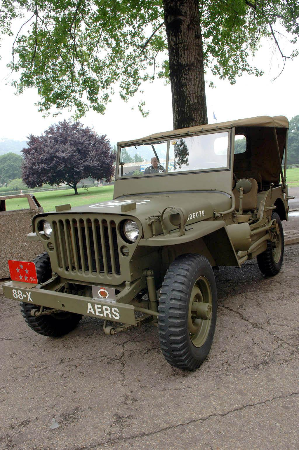 1942 Willys Jeep History, Pictures, Value, Auction Sales ...