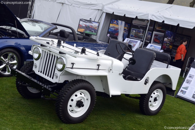 1947 Willys Overland Jeep CJ-2A Image. Photo 5 of 5