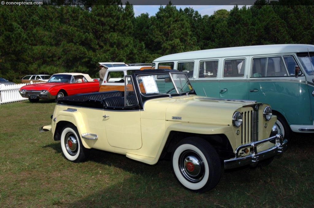 Willys Jeepster Dv Wwg