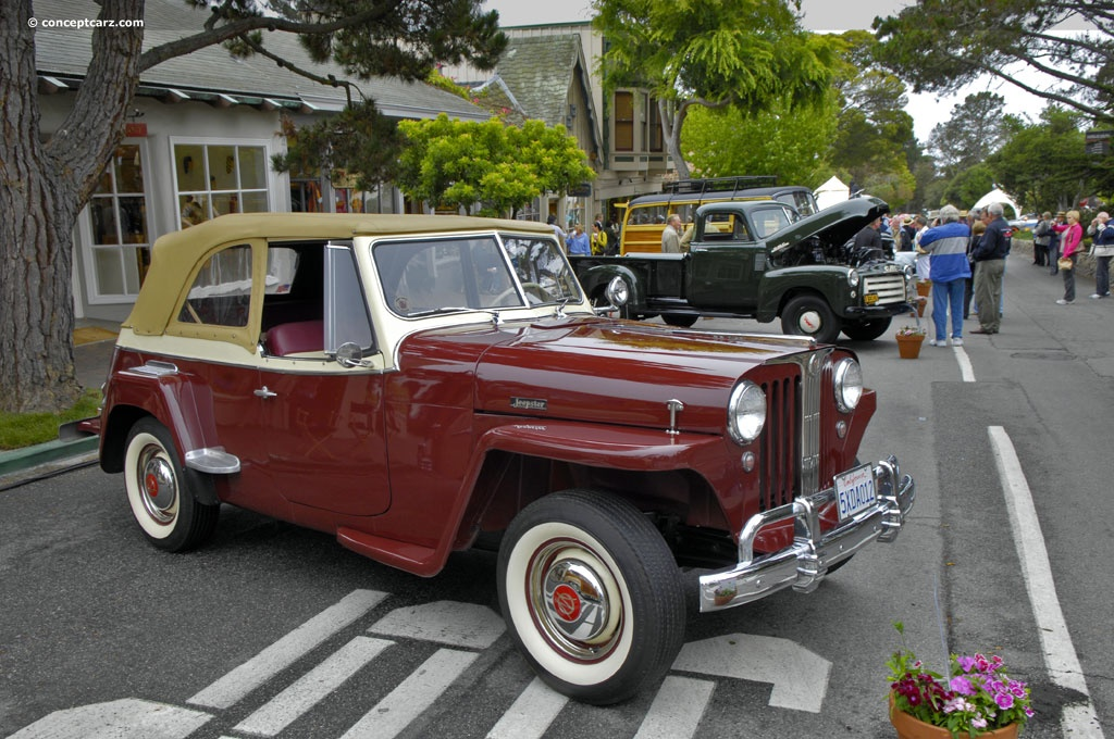 1949 Willys Jeepster History Pictures Value Auction