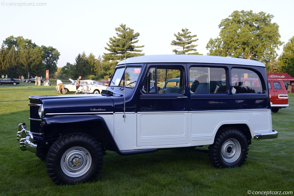 1955 willys jeep value