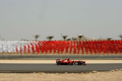 Bahrain Gp - A Hot Afternoon Of Testing