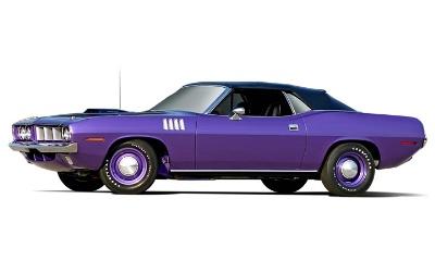 Barrett-Jackson Scottsdale's 2013 Salon Collection To Include Rare 1971 Plymouth Hemi 'Cuda Convertible