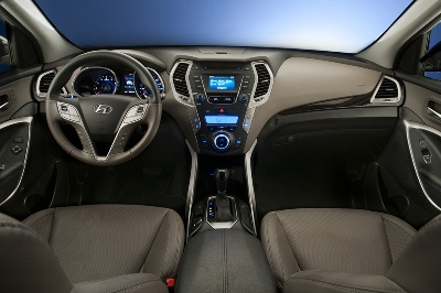 2013 HYUNDAI SANTA FE SPORT NAMED ONE OF WARD'S 10 BEST INTERIORS
