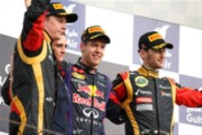Clean Sweep Of Bahrain Grand Prix Podium For Renault Engines