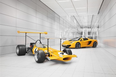 2013: CELEBRATING 50 YEARS OF McLAREN