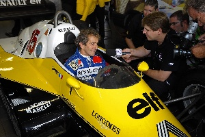 Alain Prost: new ambassador of the Renault brand