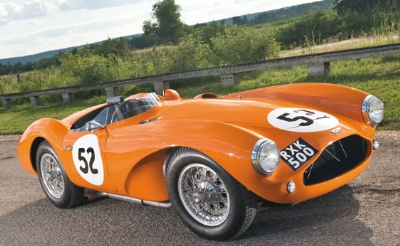 Historic Aston Martin DB3S Sports Racing Car Joins RM's Monterey Sale